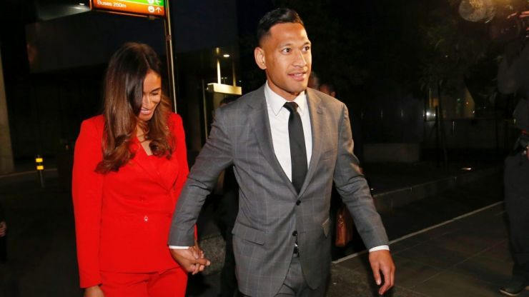 Rugby Australia apologises to Israel Folau as settlement reached over sacking
