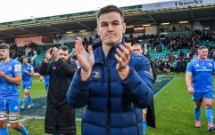 Leinster and Ireland await Monday scan on Johnny Sexton's injured knee