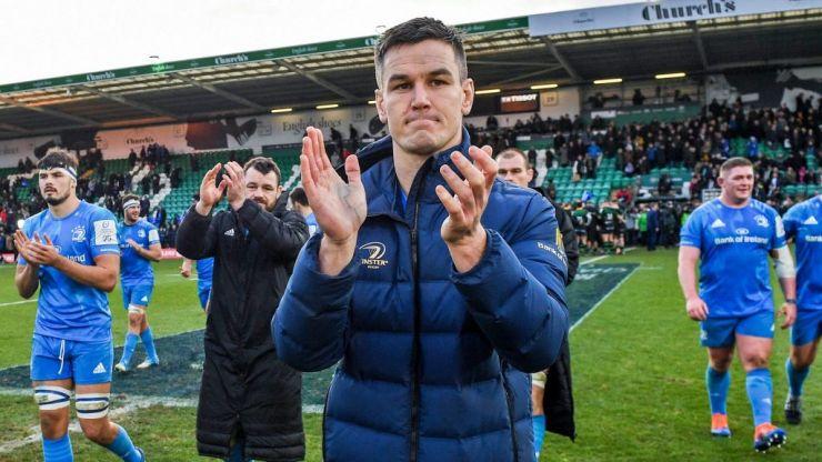 Leinster and Ireland await Monday scan on Johnny Sexton's injured knee