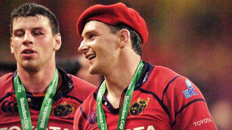 When two great Munster forwards moved back for the good of the team