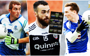 GAA JOE football team of the weekend