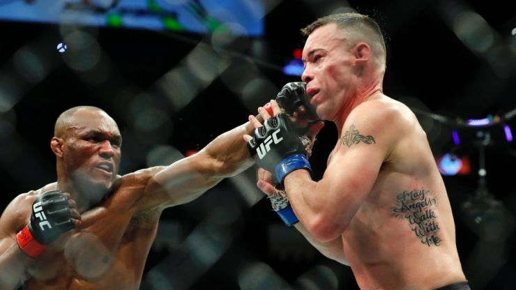 Kamaru Usman breaks Colby Covington's jaw in UFC 245 classic