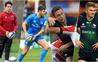 The battle for the Irish flyhalf spots
