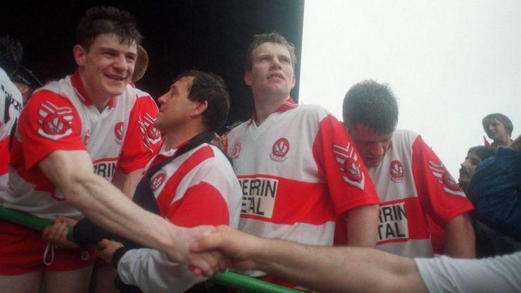 GAA Hour   Derry v Cork 1993 All-Ireland final