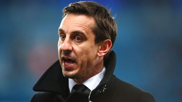 Gary Neville defends fans for booing other country's anthems