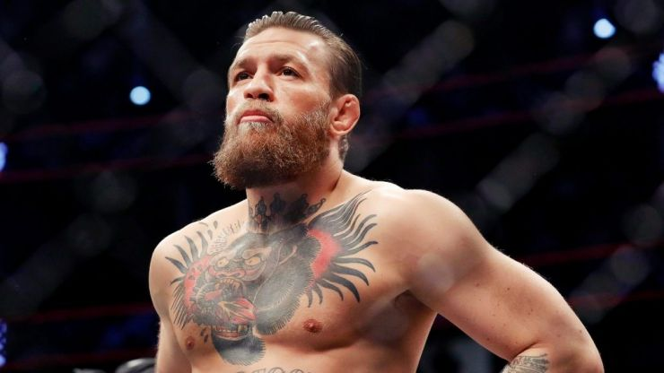 McGregor the fighter just couldn't help himself