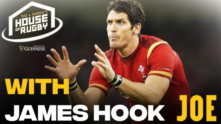 Baz & Andrew's House of Rugby - James Hook and the helpful Garda