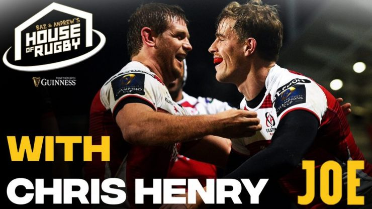 Baz & Andrew's House of Rugby - Chris Henry joins us for Trimby's 'This is Your Life'