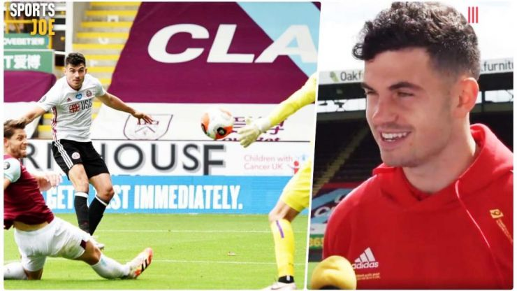 'Gaelic football is probably the last time I hit one like that' - Egan does it in style
