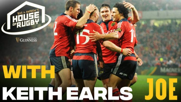 Baz & Andrew's House of Rugby - Keith Earls joins us for Season Two finalé