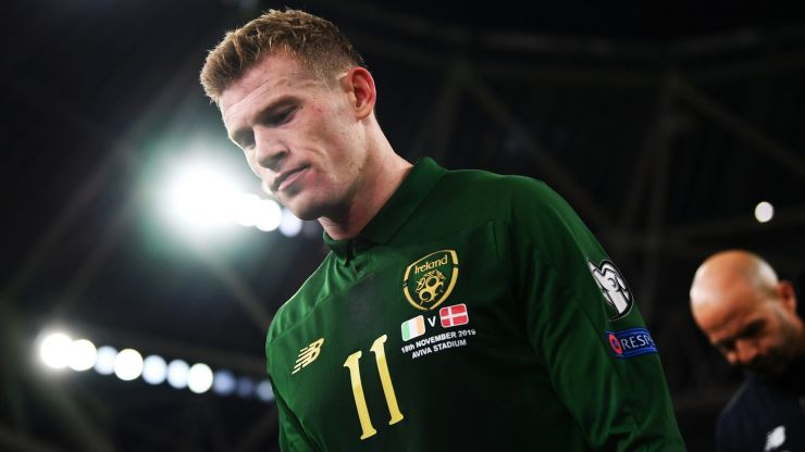 James McClean opens up on sickening, Covid-related hate mail