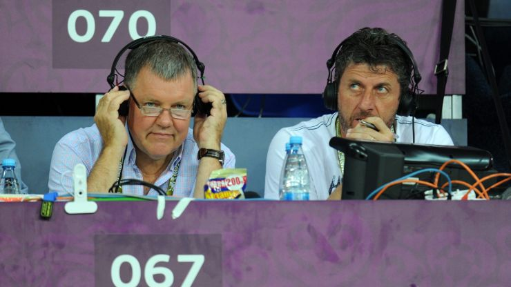 """I'm well, I'm able. I love this job, and it's gone"" - Clive Tyldesley replaced"