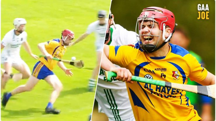 Gifted Galway club player puts on an exhibition of point scoring once more