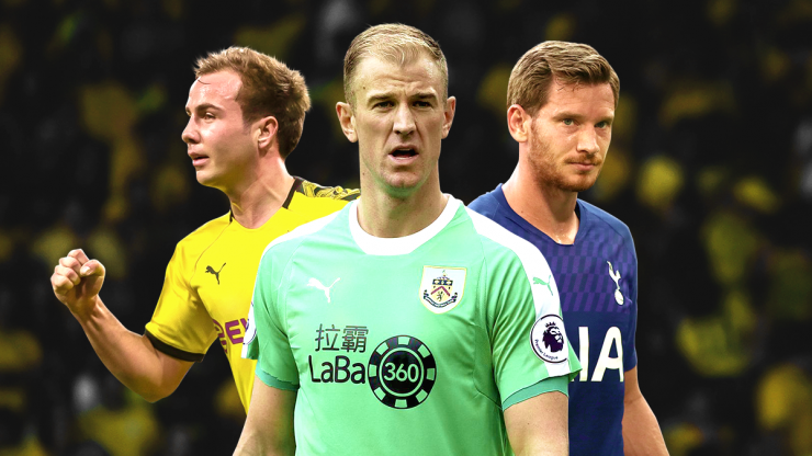 A starting XI of the best free agents available this summer transfer window