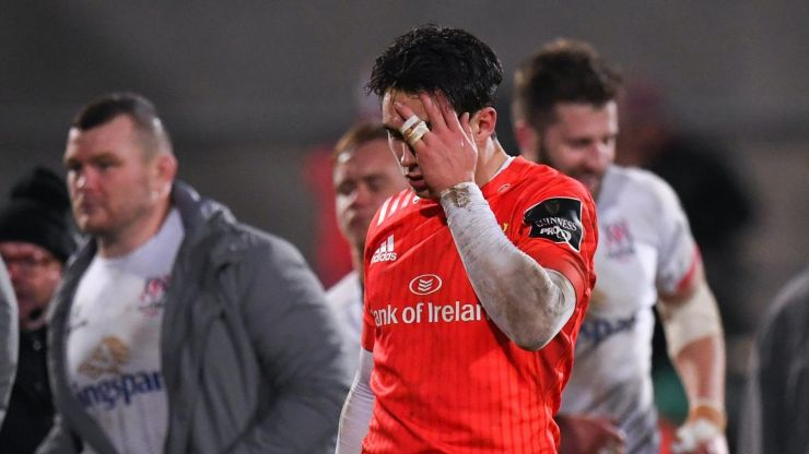 Joey Carbery ruled out indefinitely with ankle injury