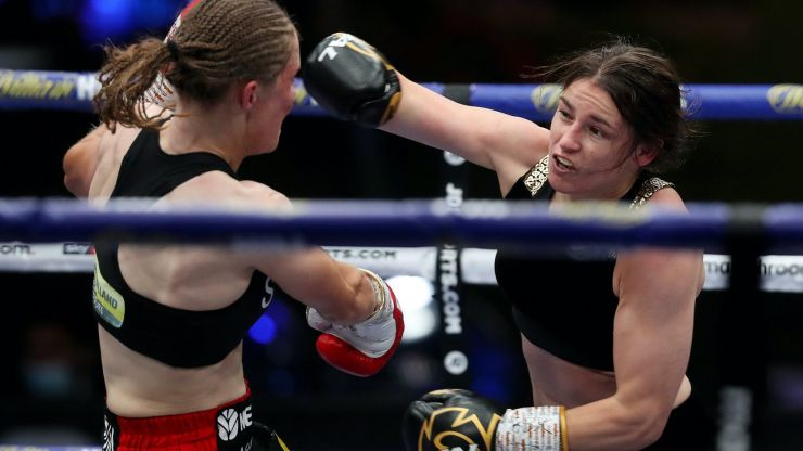 Cat-like Katie Taylor pounces all over telegraphing Persoon