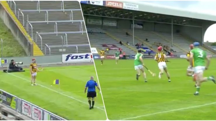 Defence-splitting sideline routine creates goal chance in Wexford final