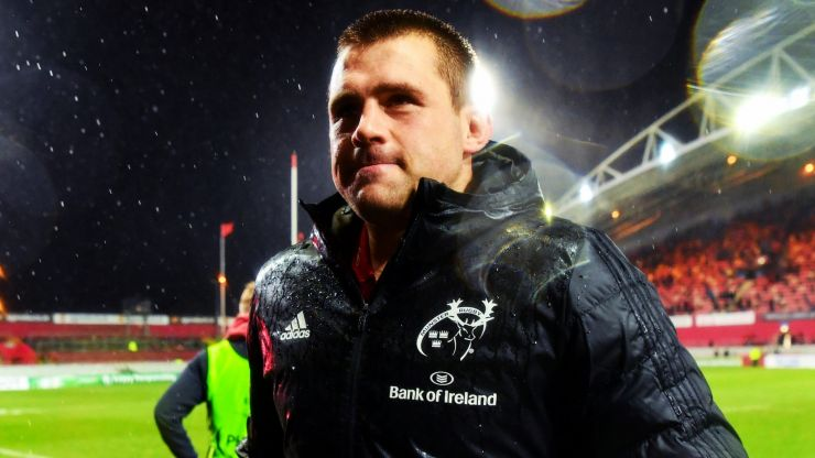 """""""You just have to keep knocking at that door, breaking that wall"""" - CJ Stander"""