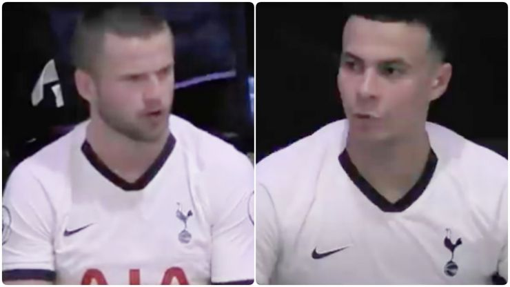Eric Dier calls Dele Alli on his tantrum in All Or Nothing changing room row