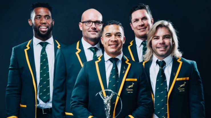 South Africa doing a school yard pick of 60 players live on TV for Springbok Showdown