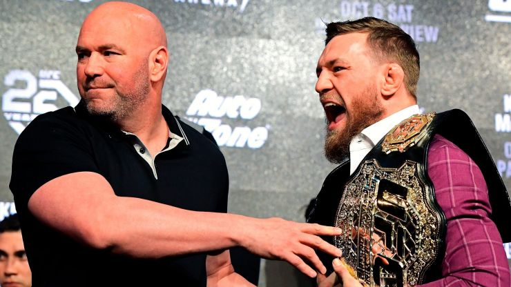 Conor McGregor shares DMs from Dana White to justify boxing comeback