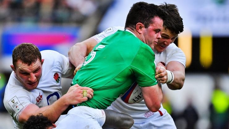 """Too simplistic"" to say Irish players struggling with English power game - Stuart Lancaster"