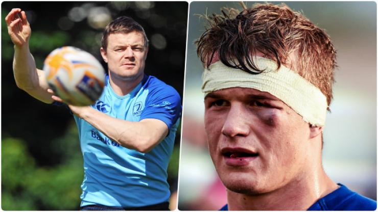 Josh van der Flier recalls first Leinster training session with Brian O'Driscoll