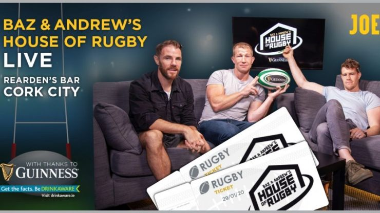 House of Rugby is coming to Cork, and you can come join us