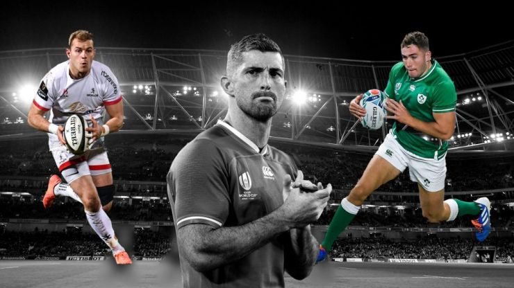 Rob Kearney: caught in the end
