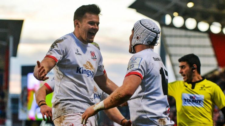 Ulster join Leinster in Champions Cup quarter final after tense Bath victory
