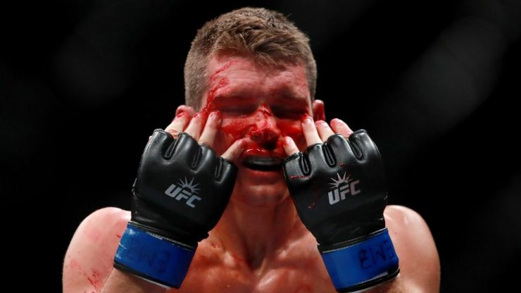 """People who tell you they're not scared, they're lying to you"" - 'Wonderboy' Thompson"