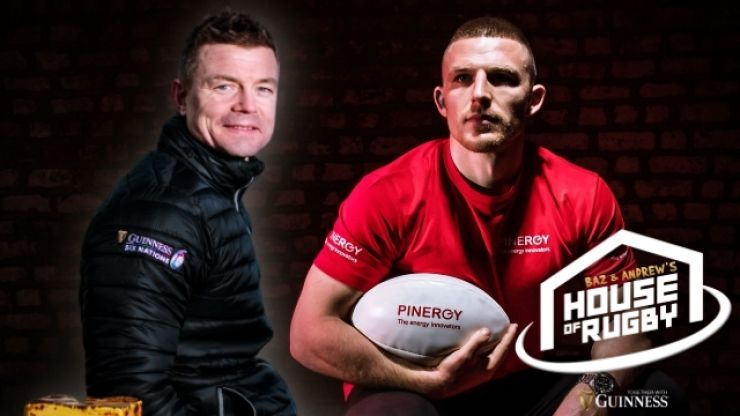 Baz & Andrew's House of Rugby - BOD and Andrew Conway