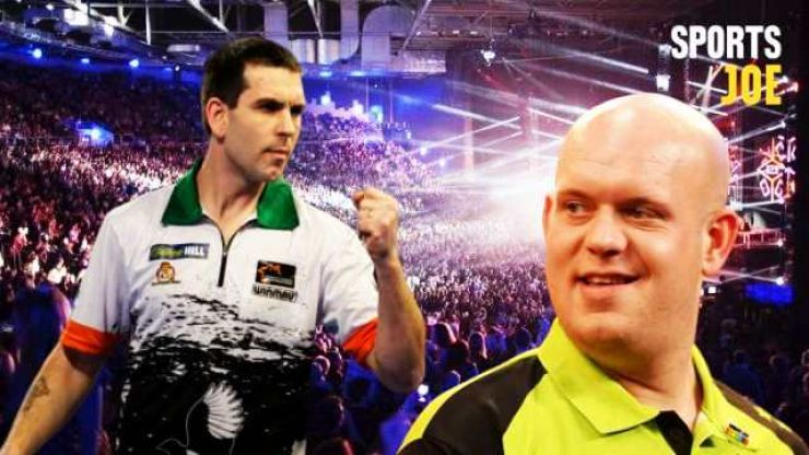 Willie O'Connor ready to light up 3Arena on mouth-watering night of darts