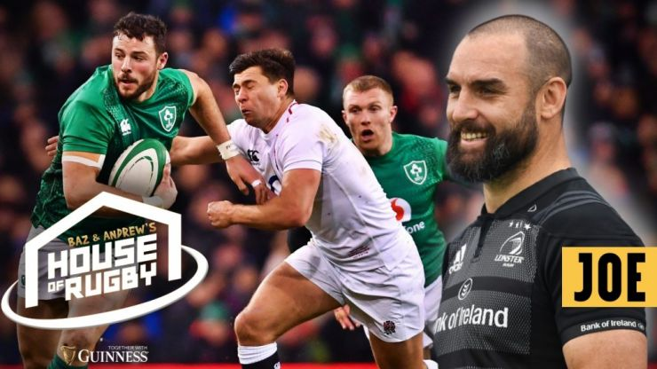 Baz & Andrew's House of Rugby - Live in Dublin with Scott Fardy and Fiona Coghlan