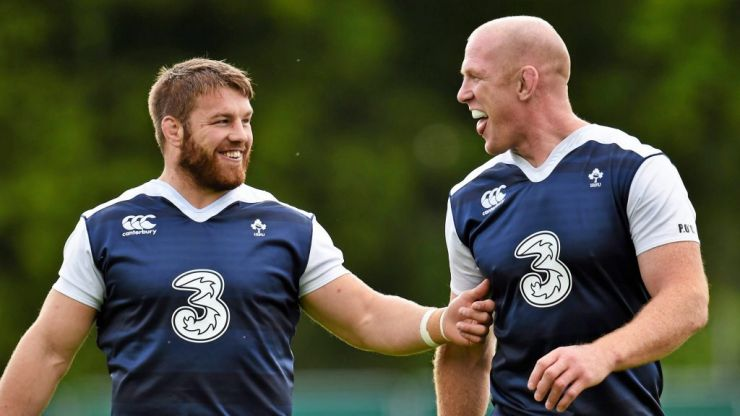 'I think Sean's one of us. He's not like them Leinster lads'
