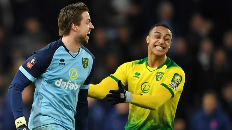 Adam Idah ignored the advice of Tim Krul before his shoot-out goal