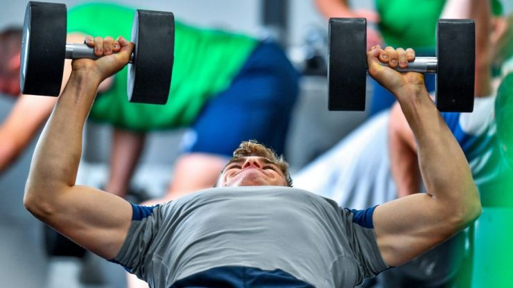How Ireland's top rugby stars are staying in shape at home