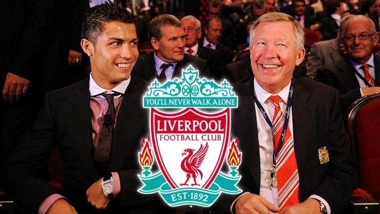 """Liverpool boss Gerard Houllier """"almost choked"""" when United signed Ronaldo"""