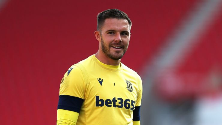 Liverpool in talks with Stoke for goalkeeper Jack Butland