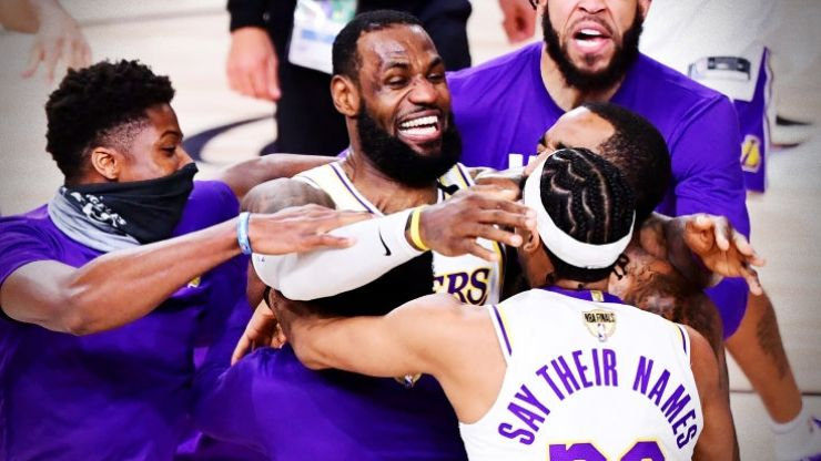 'This is bigger than us' - LeBron and Lakers dedicate NBA title to Kobe Bryant