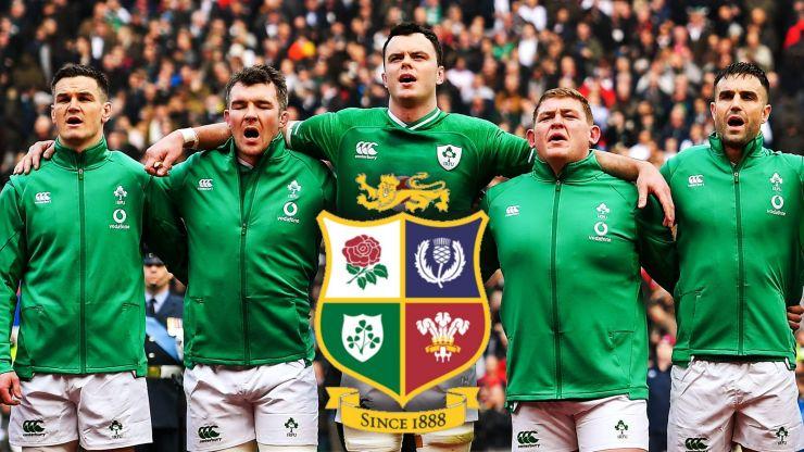 Warren Gatland mentions three Irish players as potential Lions captain