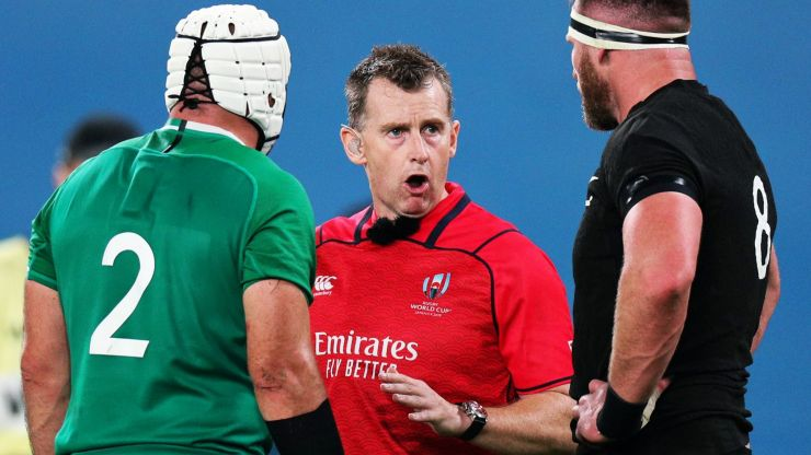 Nigel Owens on the one law change he'd love to see