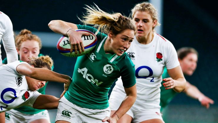 Eimear Considine on the biggest difference between men and women's rugby