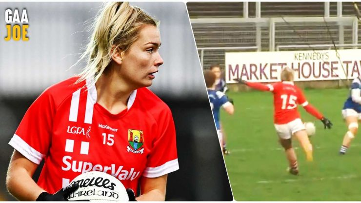 Noonan lights it up for Cork ladies after being called up to Ireland squad