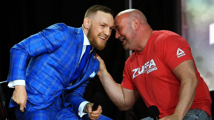 Conor McGregor eager to return next month, but Dana White has other plans