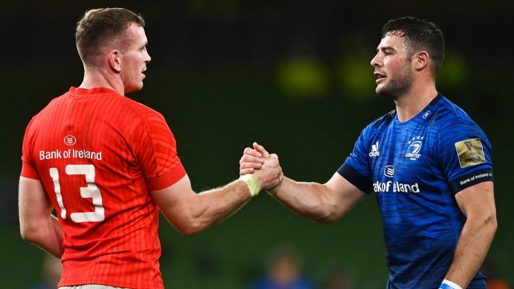 103 months later, Farrell and Henshaw reunited in Ireland's midfield