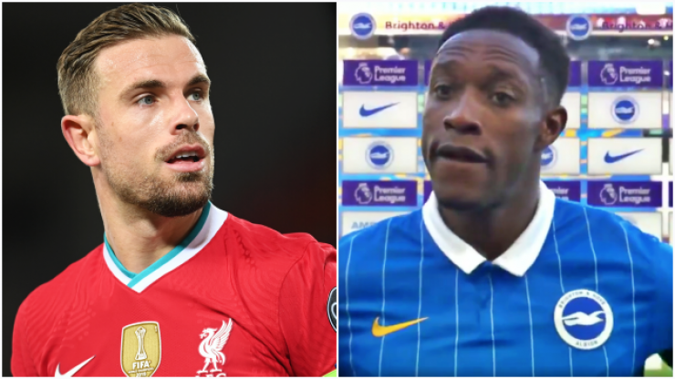 Massive discrepancy in Henderson and Welbeck's post-match interviews