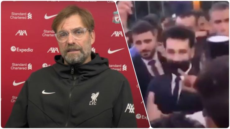 """""""In other countries there is more social pressure"""" - Klopp speaks to Salah after COVID-19 tests"""