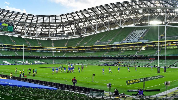 Fundraiser aims to virtually fill Aviva Stadium in support of rugby player badly injured during game