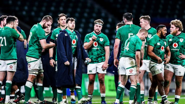 """""""Boys to men"""", insists Andy Farrell as Ireland hit string of bum notes"""
